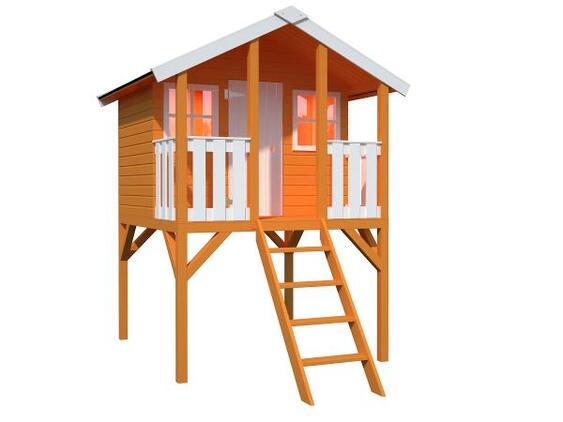 Lekehus Toby 2,1 2,2 m2 + terrasse 1,26 m2