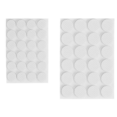 Møbelknotter i gummi 48deler